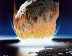 Так выглядело бы падение астероида по мнению ученых НАСА