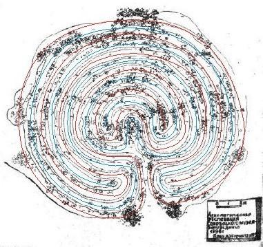 Параметры лабиринта: диаметр