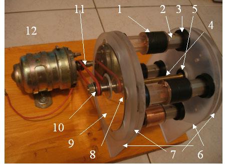 """""""Вечный  """"аномальный  """" магнитный мотор-генератор с линейным возвратно-поступательным магнитным."""